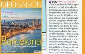 geo saison magazine barcelona yok