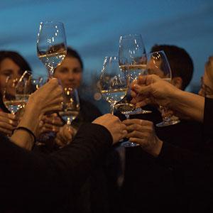 yok Barcelona wine tasting terrace