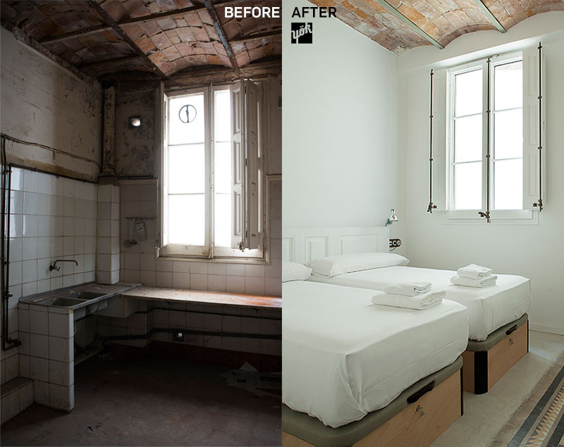 before and after eco-renovation