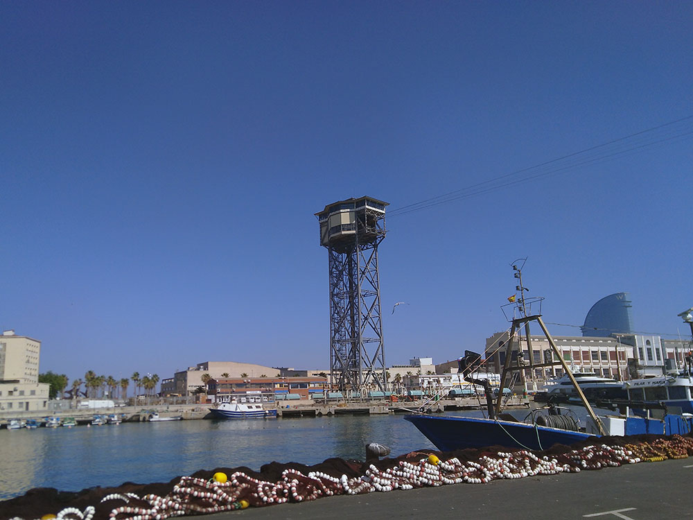 yök visit fishermen port barcelona-visit