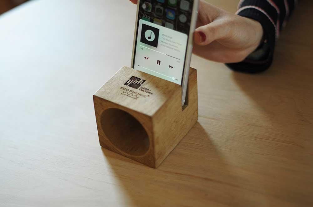 yok eco speaker by ecophonic
