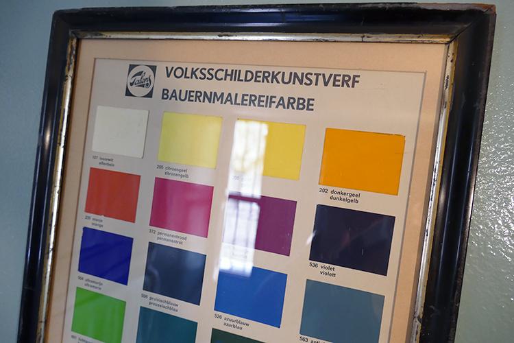 finca de paco colour chart